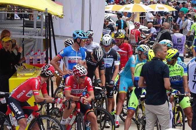 Le Touquet-Paris-Plage - Tour de France, étape 4, 8 juillet 2014, départ (C12).JPG