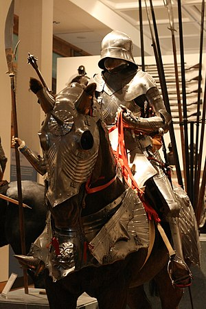Royal Armouries - Gothic plate armour, Royal Armouries in Leeds