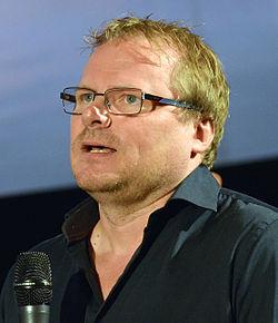 Leif Lindblom under præsentationen af det Svenske filmefterår 2014 i Filmhuset i Stockholm 2014.