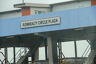 Lekki - Image: Lekki Toll Gate