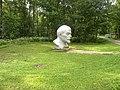 Lenins bust by Lenins shalash.jpg