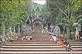 Lentrée de la pagode du Bouddha couché (Phnom Kulen) (6871637837).jpg