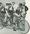 Les français Maurice Schilles et André Auffrey, champions olympiques de tandem aux JO de Londres 1908.jpg
