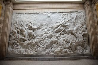 Inappropriateness - At the time, the ''Human Passions'' relief by Jef Lambeaux was deemed as indecent.