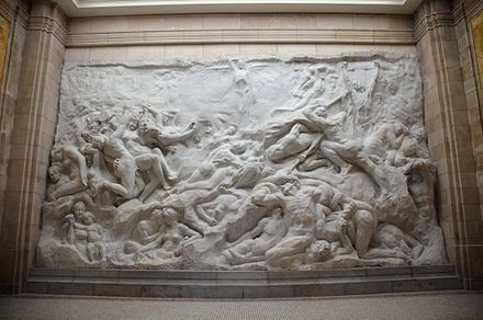 At the time, the Human Passions relief by Jef Lambeaux was deemed as indecent.