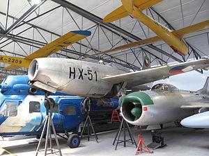 Yakovlev Yak-23 - Czechoslovak Yak-23 at the Prague Aviation Museum, Kbely