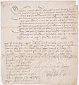 Lettre de Montmorency demandant des renforts au duc de Vendôme contre Charles Quint 1 - Archives Nationales - AE-II-2188.jpg