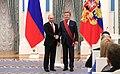Lev Leshchenko and Vladimir Putin2018.jpg
