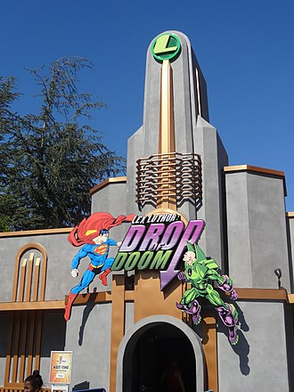 Lex Luthor: Drop of Doom - Image: Lex Luthor, Drop of Doom Six Flags Magic Mountain
