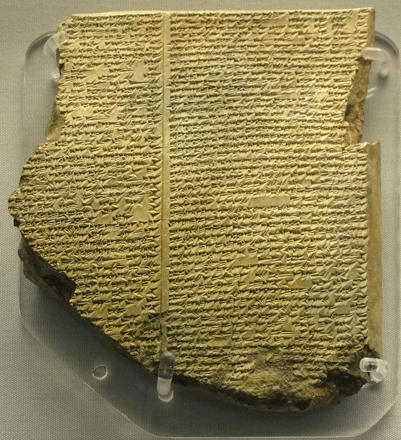 Library of Ashurbanipal The Flood Tablet.jpg