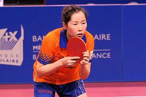 Li Jie (table tennis) - Lie Jie, Europe Top-16 Antibes 2017