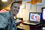 Lieutenant gets Facetime with newborn son 110521-F-WA896-002.jpg