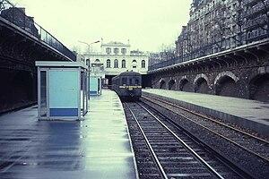 Pereire – Levallois (Paris RER) - Image: Ligne d'Auteuil 5