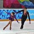 Lillehammer 2016 - Figure Skating Pairs Short Program - Anna Duskova and Martin Bidar 9.jpg