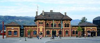 Lillehammer Station railway station in Lillehammer, Norway