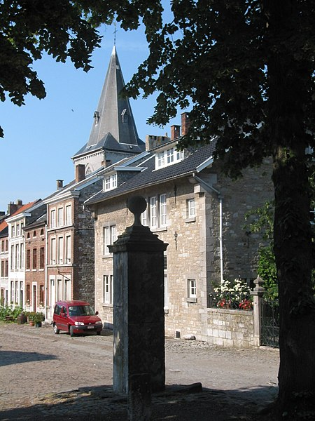 Limbourg (Belgium), the St. Georges place.