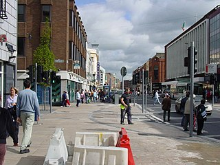 OConnell Street, Limerick Main street of Limerick city, Ireland