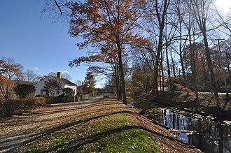 Blackstone River Valley National Historical Park - Blackstone Canal