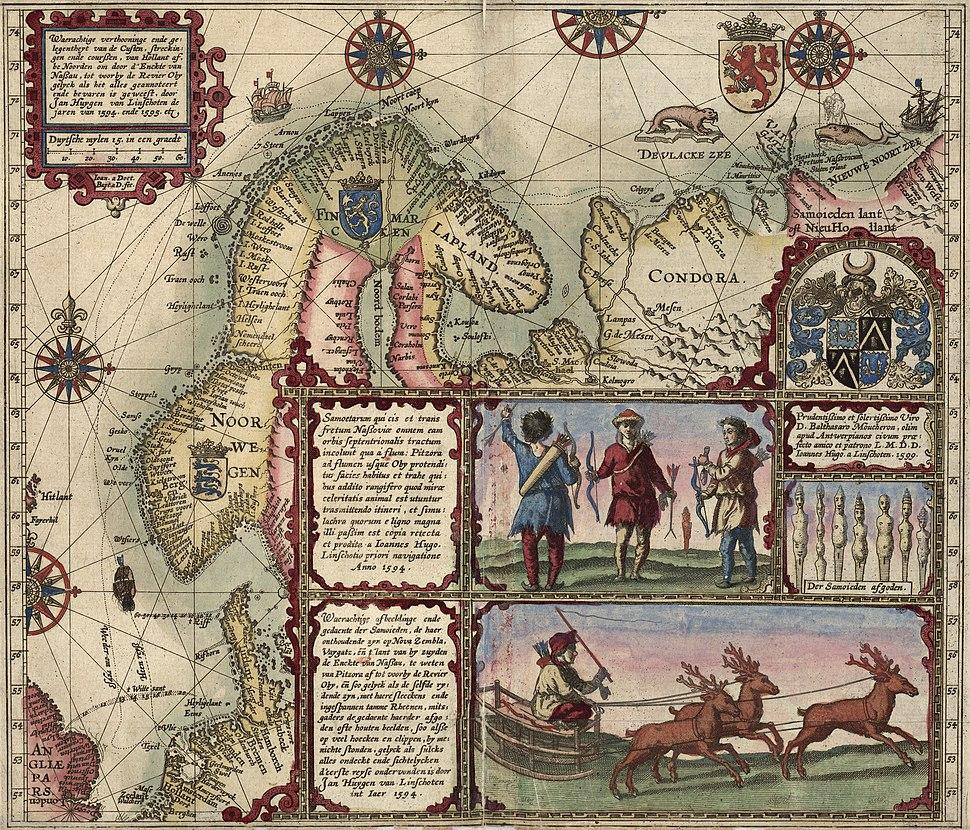 Linschotens nordenkart, 1601 (12067624705)