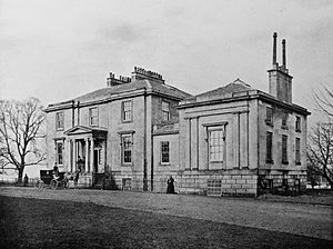 Linthouse - Image: Linthouse, Mansion House, 1869