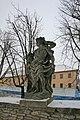 Litomyšl sochy na zdi zámecké zahrady6.JPG