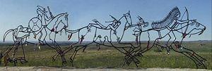 Little Bighorn Battlefield National Monument - Indian Memorial