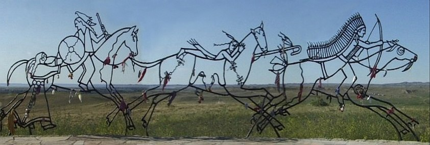 Little-bighorn-memorial-sculpture-2