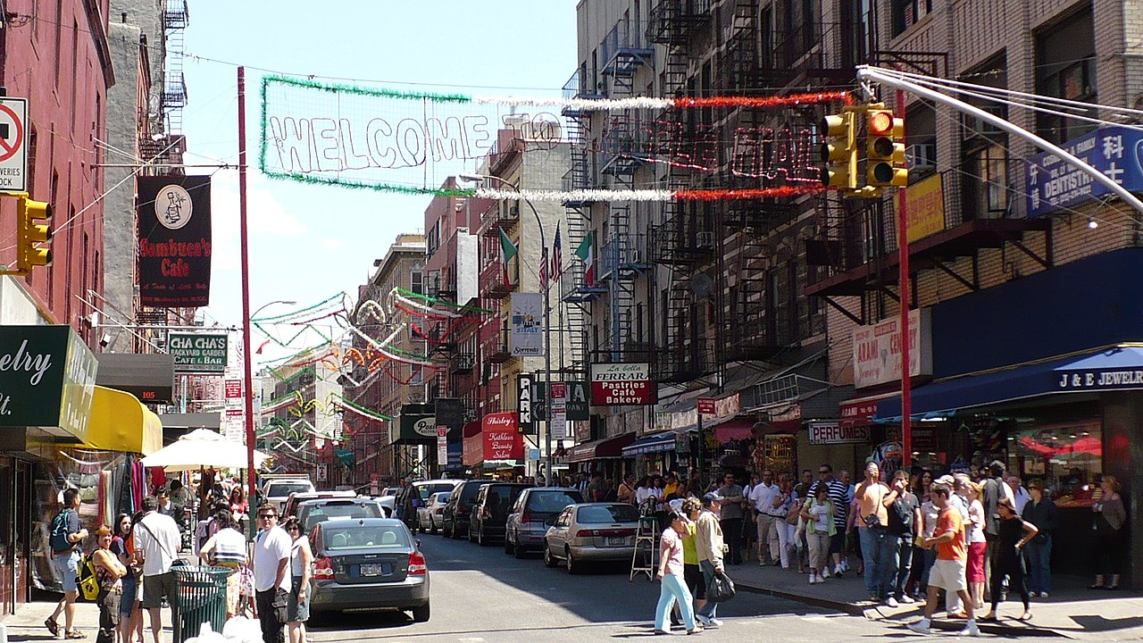 welcome little italy nyc