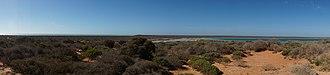 Denham, Western Australia - Image: Little Lagoon, north of Denham, Western Australia