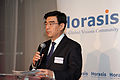 Liu Haiyan, Senior Vice-Chairman, China Federation of Industrial Economics, during the welcome reception - Flickr - Horasis.jpg