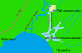 Location of Bethsaida map.png