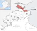 Locator map of Kanton Briançon-1 2019.png