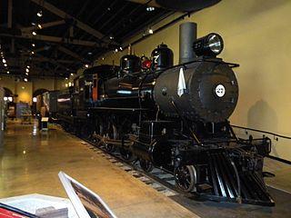 Virginia and Truckee Railway Locomotive No. 27 preserved American 4-6-0 locomotive