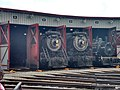 Locomotives in the Roundhouse at Steamtown.jpg
