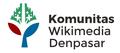Logo Komunitas Wikimedia Denpasar.png