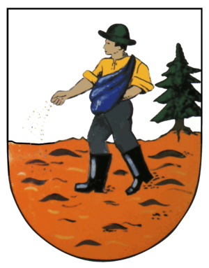 Lohmen - Image: Lohmen (Sachsen) Wappen