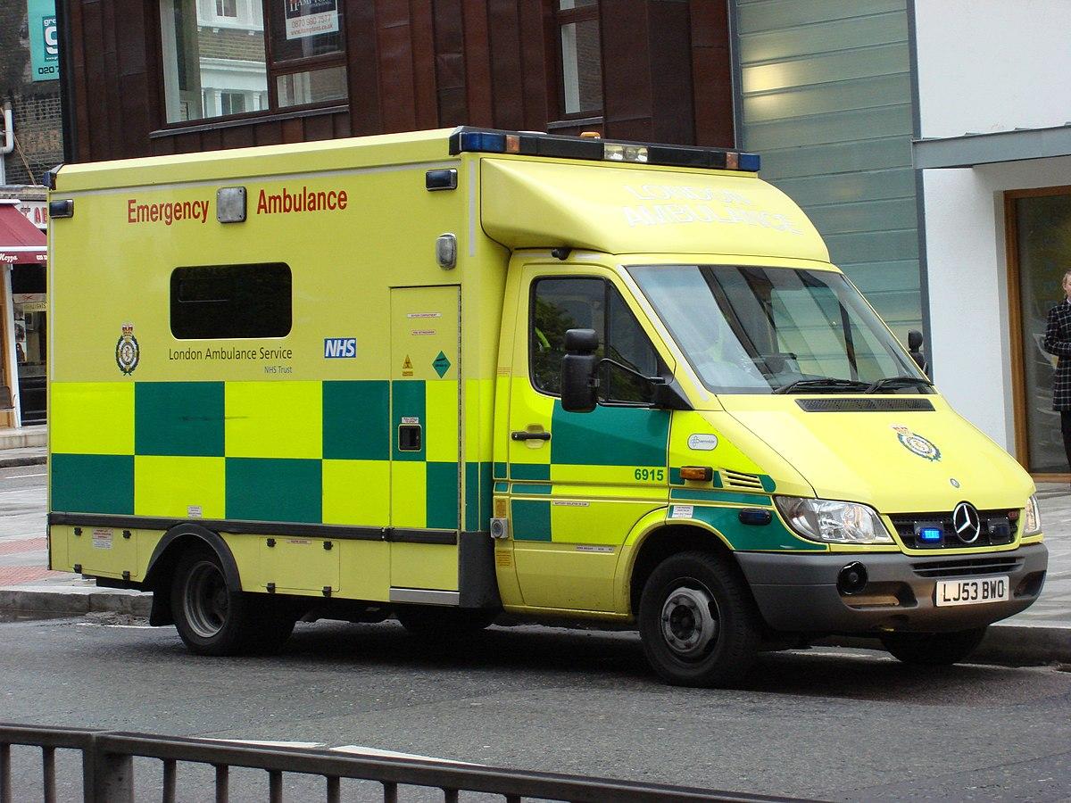 London Ambulance Service  U2014 Wikip U00e9dia