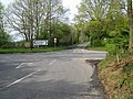 Looking north at cross roads at Foxhill - geograph.org.uk - 1263324.jpg