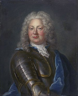 Gustaf Jacob Horn - Lord Chamberlain Gustaf Jakob Horn af Rantzien (Olof Arenius)