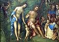 Lorenzo costa, il regno di como, dett., 1511, 01.JPG