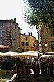 Lorgues - Place du Revelin - Boulevard Clemenceau - View South into Rue de la Trinité.jpg