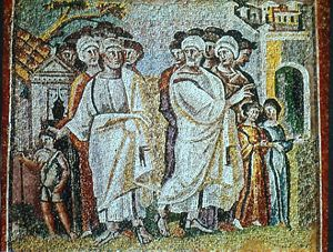 The Parting of Lot and Abraham (Santa Maria Maggiore)