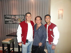 Lou Christie - Lou Christie (center) with the Earth Angels