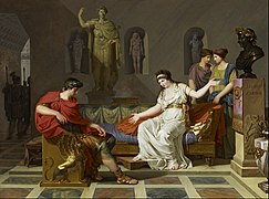 Louis Gauffier - Cleopatra and Octavian - Google Art Project.jpg