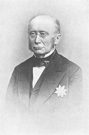 Ostercappeln - Ludwig Windthorst in 1872