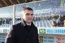 Luigi De Canio, tecnico degli abruzzesi nella stagione 1998-99.