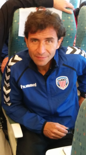 Luis Milla Spanish football player/manager