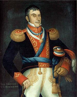 Luis de la Cruz - Luis de la Cruz y Goyeneche. Portrait by José Gil de Castro