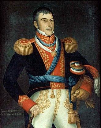 Luis de la Cruz - Portrait by José Gil de Castro