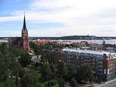 Luleå vanaf gemeentehuis 2.jpg